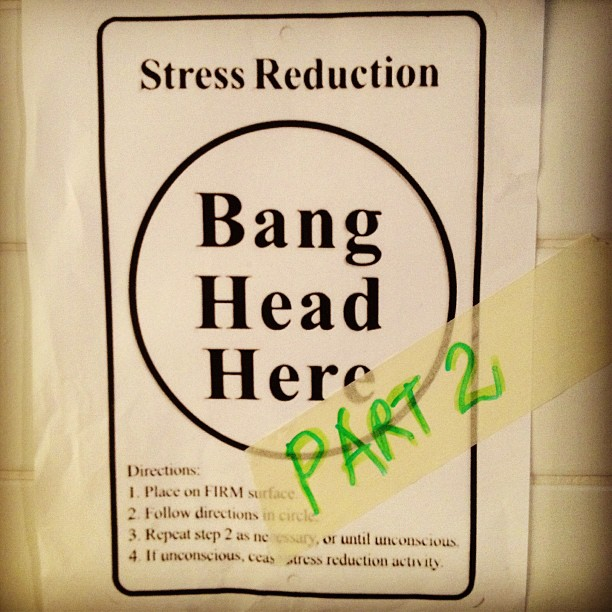 Ein ganz normaler Tag: Bang head here – Part 2
